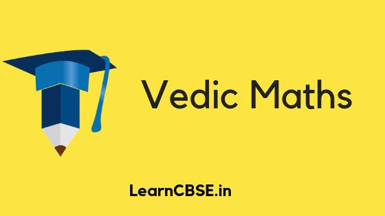 vedic maths definition